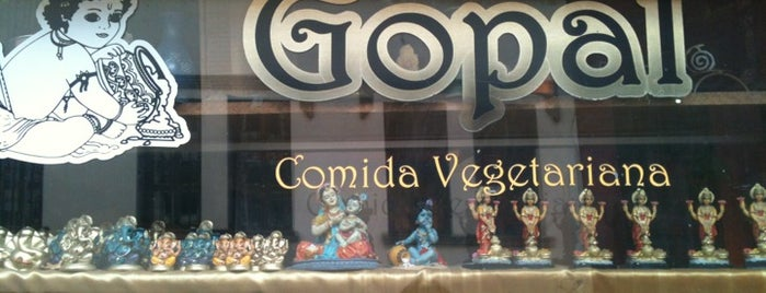 Gopal Restaurante Vegetariano is one of a comer!.