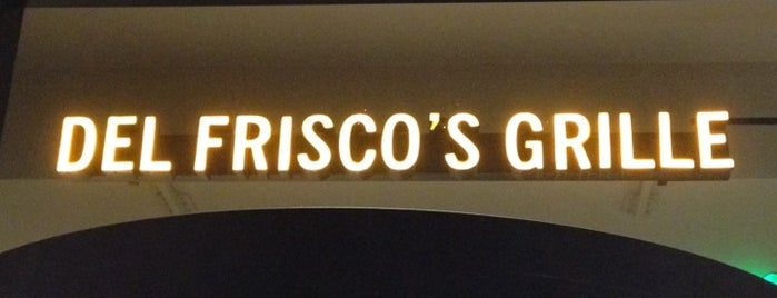 Del Frisco's Grille is one of DC Bucket List.