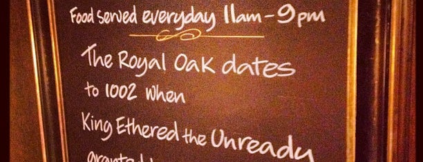The Royal Oak is one of Winchester Pubs.
