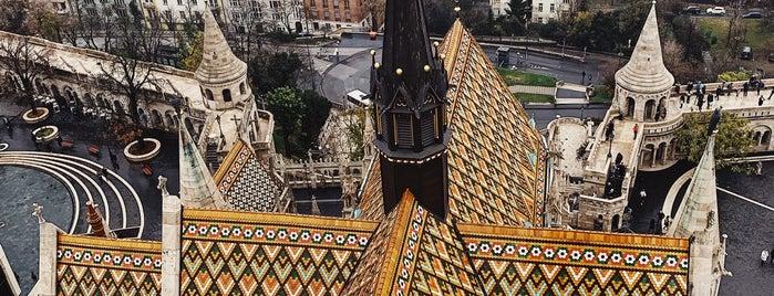 Mátyás-templom torony is one of Budapest [all].