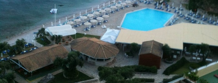 Nissaki Beach Hotel is one of Corfu, Greece.