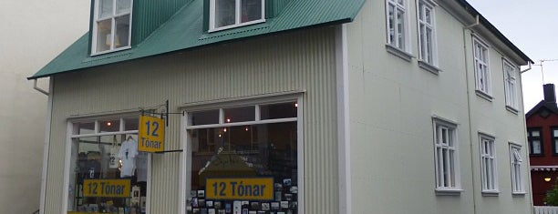 12 Tónar is one of Reykjavik.