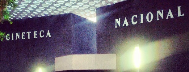 Cineteca Nacional is one of D.F..