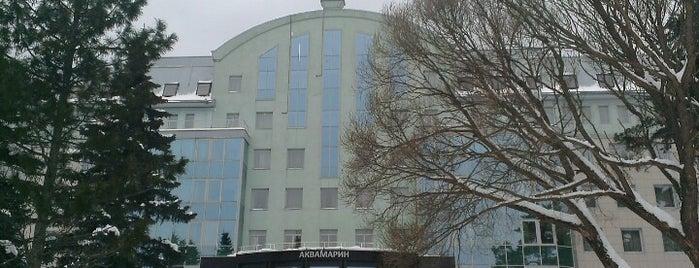 СПА-отель Аквамарин is one of สถานที่ที่ Valeria ถูกใจ.