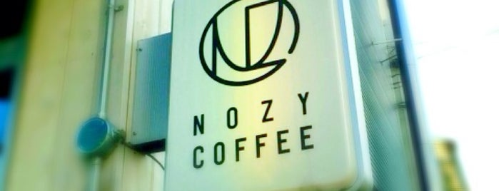 NOZY COFFEE is one of Japan.