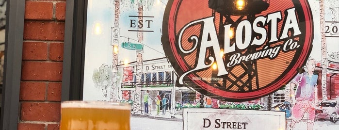 Alosta Brewing Co. is one of Los Angeles.