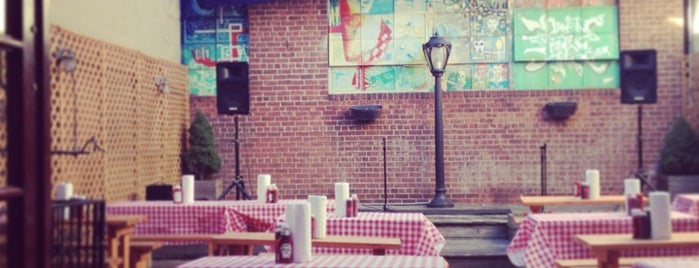 John Brown Smokehouse is one of NYC Restaurants (with Patios!).