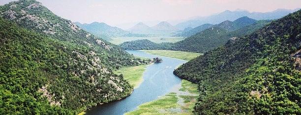 Rijeka Crnojevića is one of Budva.