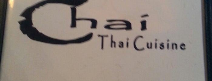 Chai Thai Cuisine is one of Lugares favoritos de Sharon.