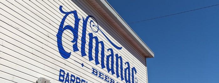 Almanac Beer Co. Barrel House & Taproom is one of San Francisco.