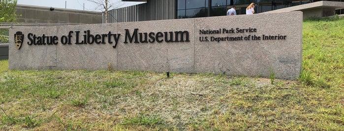 Statue of Liberty Museum is one of Inna : понравившиеся места.
