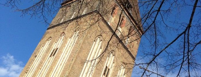 Petrikirche is one of Rostock/Warnemünde.