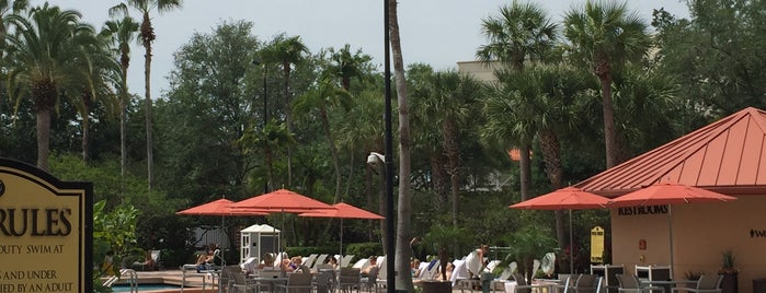 Harry's Poolside and Grill is one of Orlando Part 2.