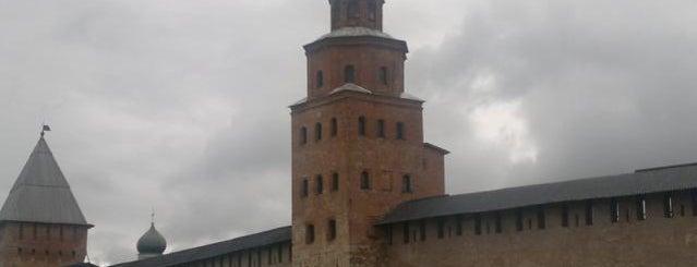Башня Кокуй is one of Novgorod.