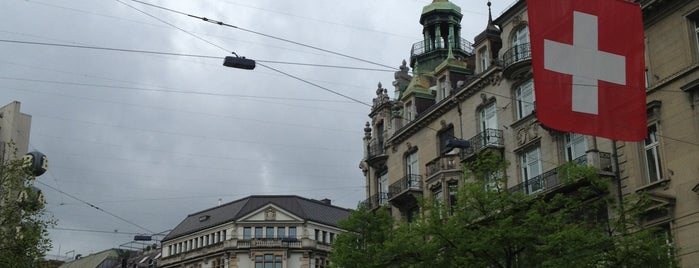 Bahnhofstrasse is one of Zurich: business trip 2014-2015.