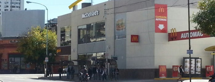 McDonald's is one of Comida Rápida.