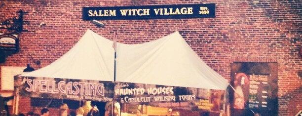 Salem Witch Village is one of Viagem 2014.