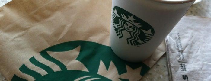 Starbucks is one of Evanston Favorites.