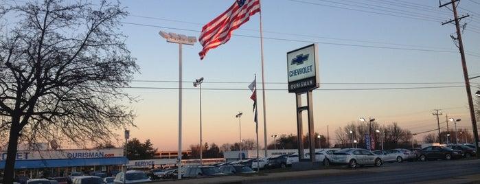 Ourisman Chevrolet of Rockville is one of สถานที่ที่ Erica ถูกใจ.
