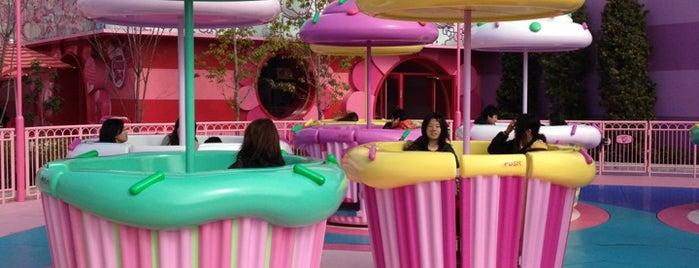ハローキティのカップケーキ・ドリーム is one of Universal Studios Japan.