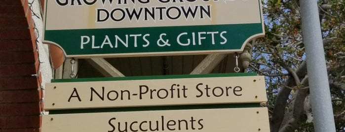 Growing Grounds Downtown is one of SLO County Top Spots.