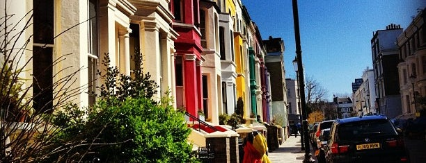 Notting Hill is one of London Essentials.