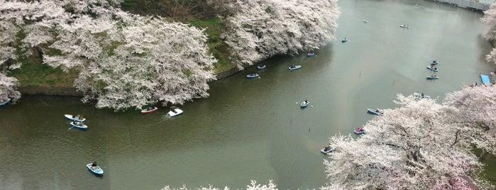 Chidorigafuchi is one of สถานที่ที่ Jase ถูกใจ.