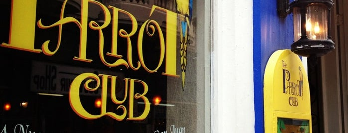 The Parrot Club is one of San Juan, Puerto Rico.