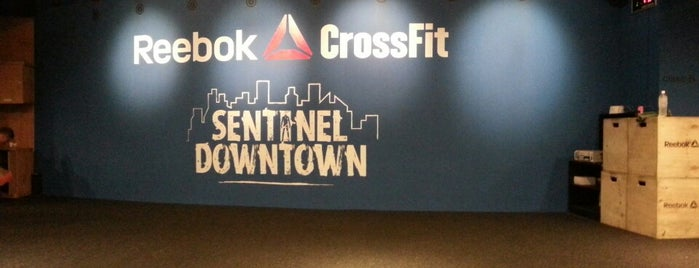 Reebok Crossfit Sentinel Downtown is one of Korea.
