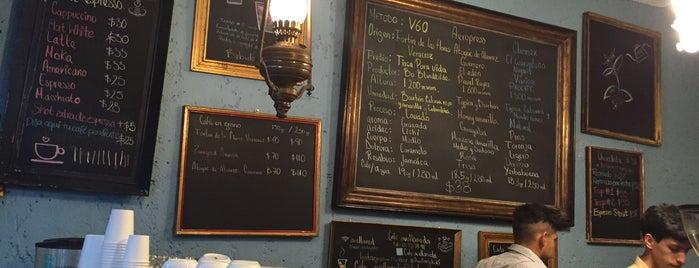 Café Avellaneda is one of Los Mejores Cafés de Especialidad del DF.