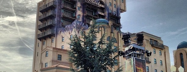 The Twilight Zone Tower of Terror is one of My Paris.