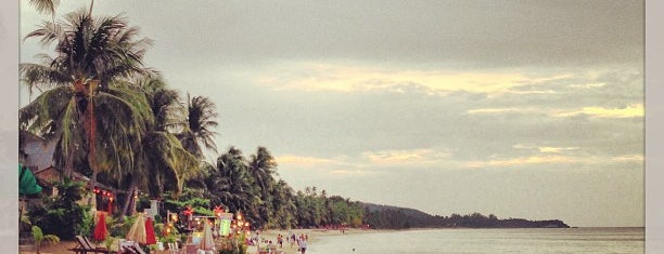 Mae Nam Beach is one of koh samui.