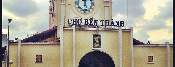 Chợ Bến Thành (Ben Thanh Market) is one of Visit Eat Stay @ HCMC.