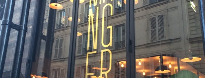 Manger is one of PARIS.