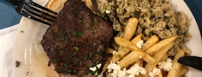 George's Greek Grill is one of LA.