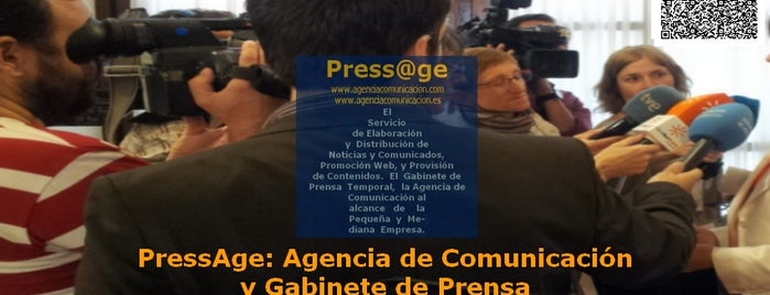 PressAge: Agencia de Comunicación y Gabinete de Prensa is one of Lugares Favoritos . Favorites Places.