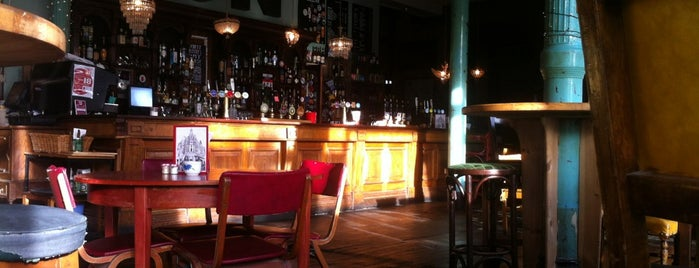 The Red Lion is one of London's Best for Beer.