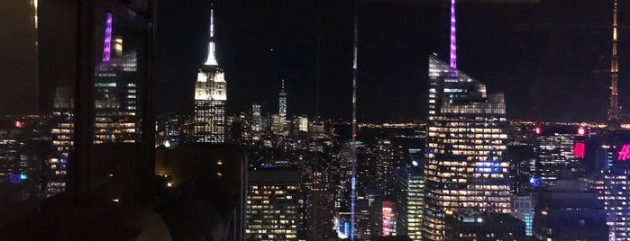 Rainbow Room is one of Manhattan.