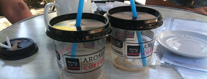 Aroma is one of Tel Aviv second best.