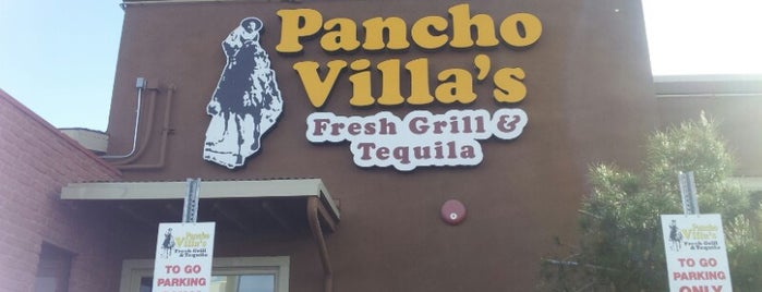Pancho Villa's Mexican Grill is one of The Desert.