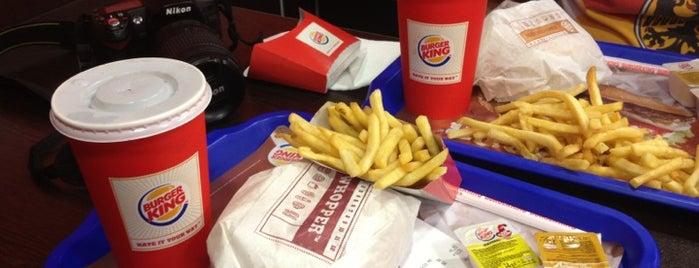 Burger King is one of Locais curtidos por Çiçek.