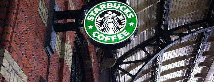 Starbucks is one of надо бы посетить =).