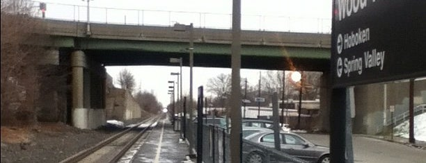NJT - Wood-Ridge Station (PVL) is one of New Jersey Transit Train Stations.