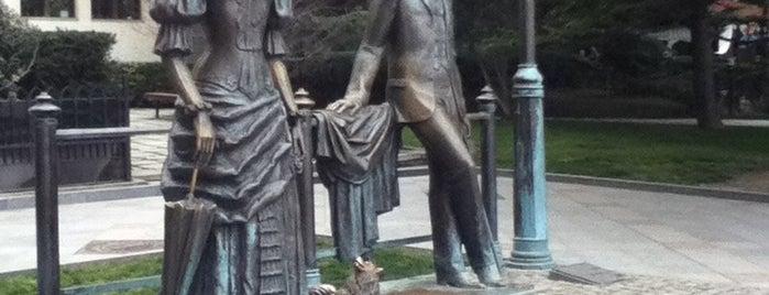 Дама с собачкой is one of สถานที่ที่ Dmitry ถูกใจ.