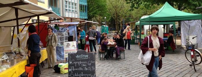 Schillermarkt Herrfurthplatz is one of Posti che sono piaciuti a Rhys.