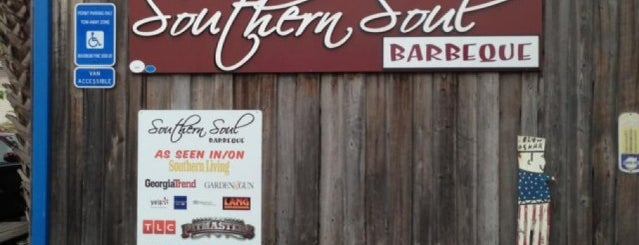 Southern Soul Barbeque is one of Trips south.