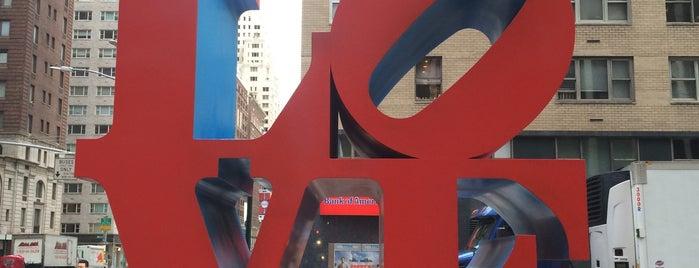 LOVE Sculpture by Robert Indiana is one of Nueva York.