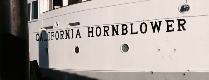 Hornblower Cruises & Events is one of Tempat yang Disukai Sergio M. 🇲🇽🇧🇷🇱🇷.
