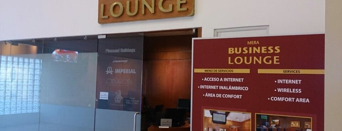 Mera Business Lounge is one of Posti che sono piaciuti a Fernando.
