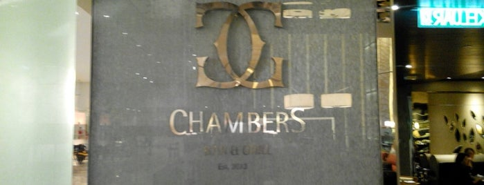 Chambers Bar And Grill is one of Pleasurable Dining.
